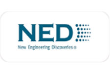 """NED (NEW ENGINEERING DISCOVERIES)"" (Russia) Logo"